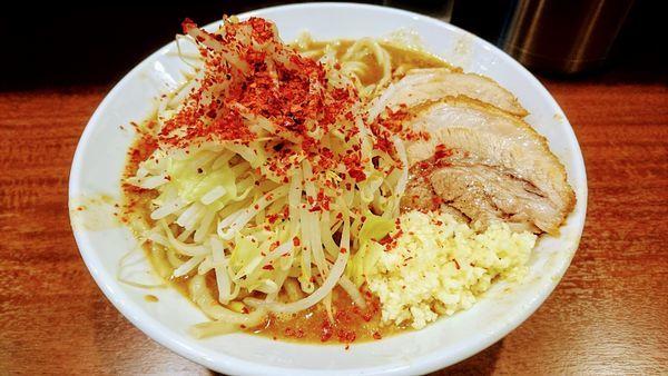 「カレーラーメン(ニンニク増し・トウガラシ増し)」@麺屋 づかちゃんの写真