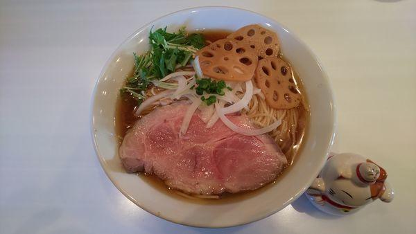 「醤油そば  大盛り」@麺や 彩~iro~の写真