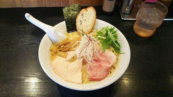 「濃厚鶏白湯醤油ラーメン」@上気元 いただきの写真
