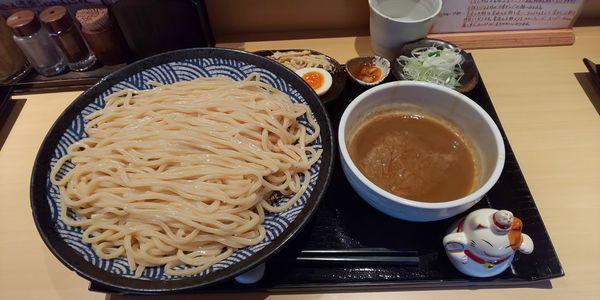 「つけ麺  大盛り」@つけ麺 道の写真
