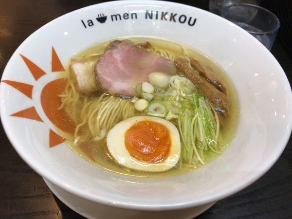 「日香麺  塩」@ラーメン ニッコウの写真