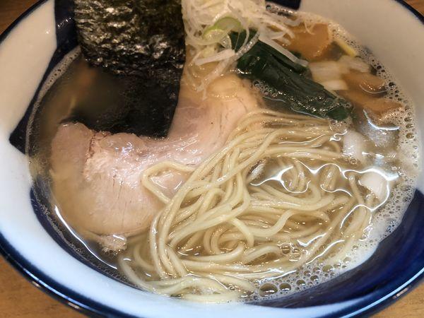 「極普通のラーメン塩」@麺処 慶の写真