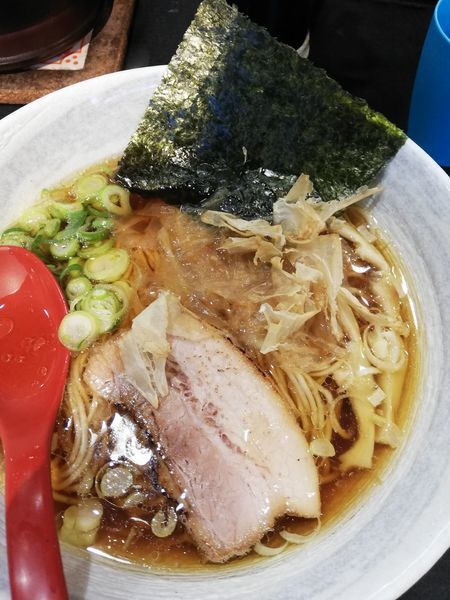 「鮭節醤油麺」@超純水採麺 天国屋の写真