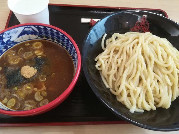 「濃厚豚骨魚介つけ麺(中)」@つけ麺専門店 三田製麺所 イオンモールナゴヤドーム前店の写真