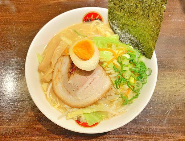 「野菜とんこつラーメン」@光麺 恵比寿店の写真