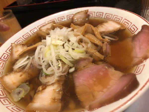 「醤油ラーメン+チャーシュー」@喜多方食堂 麺や玄 十条店の写真