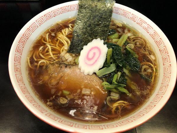 「中華そば」@自家製麺 KANARIの写真