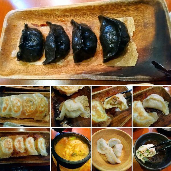「和合餃子7種類!」@元祖中華 和合餃子の写真