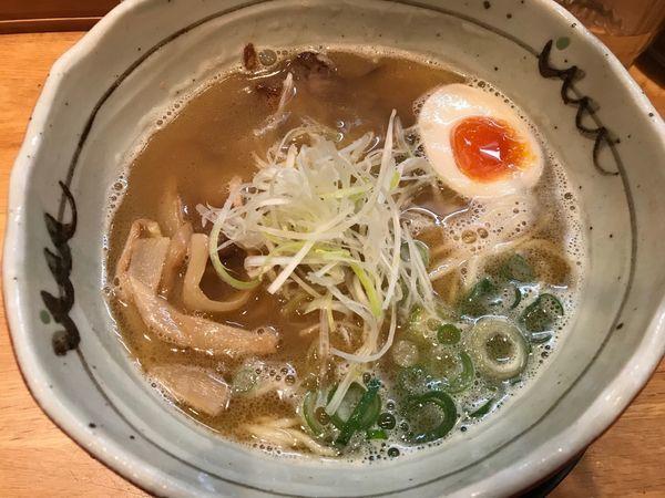 「煮干し香るらぁめん 680円」@麺匠 たか松 本店の写真