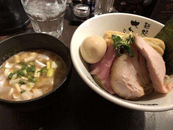 「濃厚魚介豚骨特製つけ麺」@麺処 さとう 桜新町店の写真