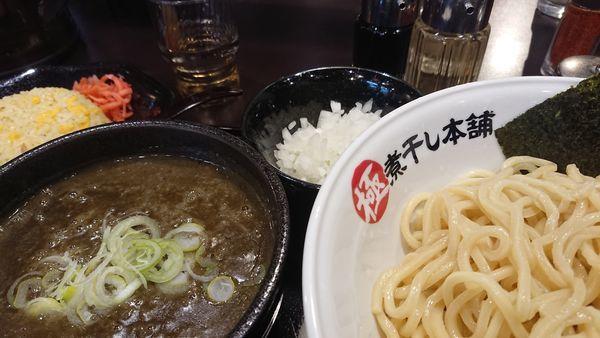 「極濃煮干し豚骨つけ麺」@極煮干し本舗 東松山店の写真