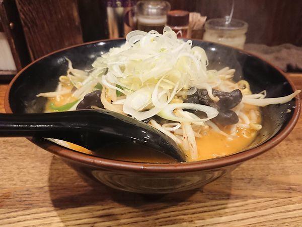 「味噌オロチョン」@北海道らーめん ひむろ 松戸駅前店の写真