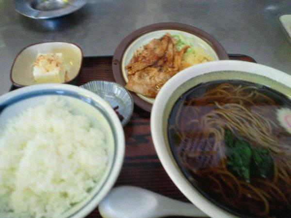 「そば定食 800円」@まんさく食堂の写真