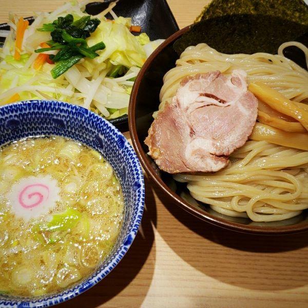 「野菜つけめん(並)830円」@舎鈴 JRさいたま新都心ビル店の写真
