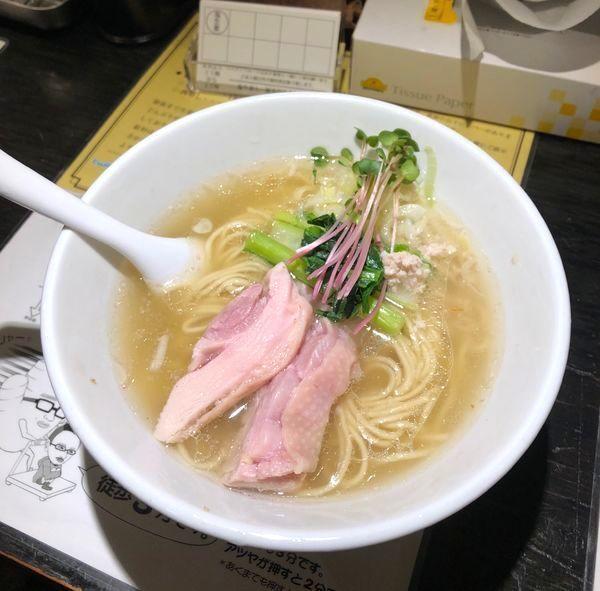 「塩生姜らー麺 800円」@塩生姜らー麺専門店 MANNISHの写真