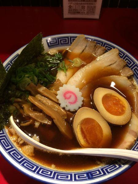 「特醤油ラーメン950円」@風は南からの写真