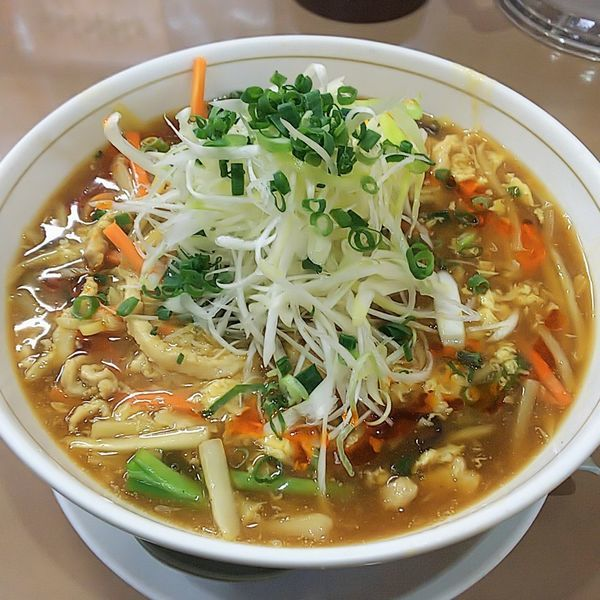 「酸辣湯麺」@中華料理 ぼん天 東村山店の写真