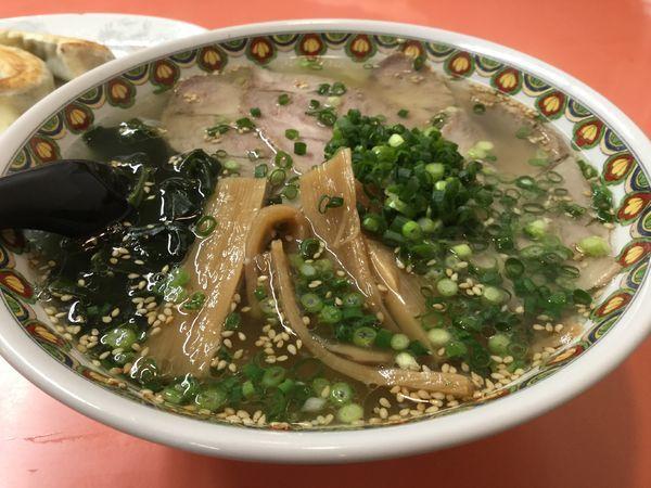 「焼豚塩麺850円」@珍來 北千住店の写真