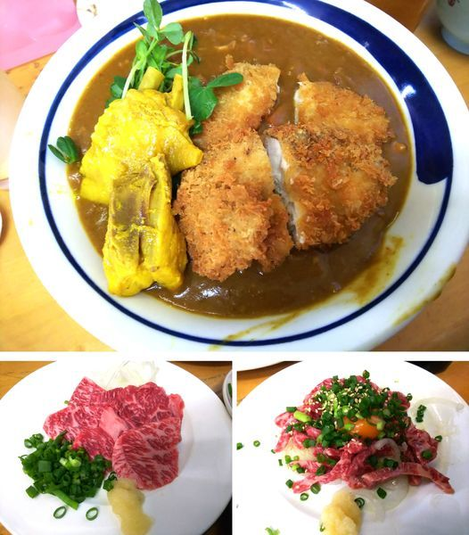 「【限定】サラリ鶏カレーS別煮みつせ鶏+胸カツ2枚 2000円」@MENYA 食い味の道有楽の写真