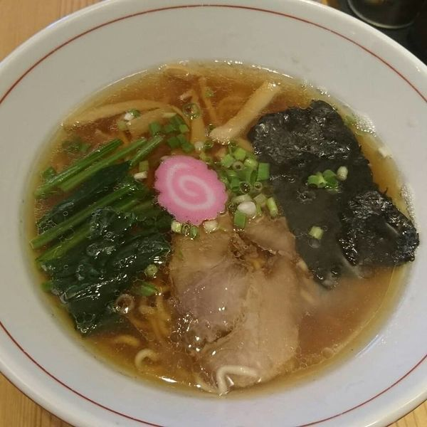 「あっさり醤油らーめん」@自然派ラーメン処 麻ほろ 小樽本店の写真