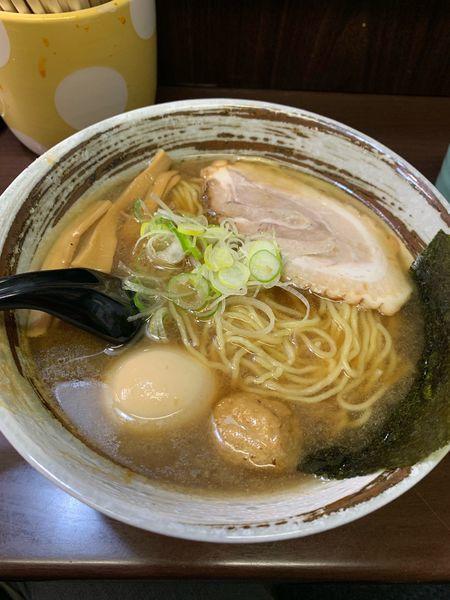 「煮干しラーメン(限定メニュー)」@裏 我馬らーめんの写真