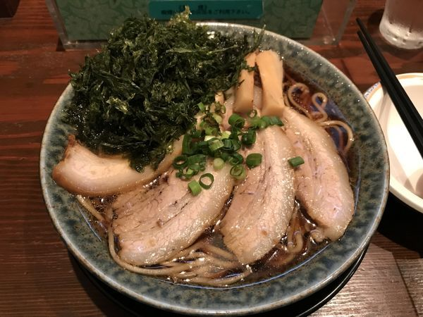 「古式醤油ラーメン」@古式ラーメン 鶴亀の写真
