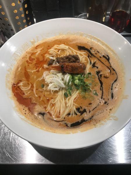 「海老寿久担々麺 1000円」@麺屋 愛心 TOKYO 町屋店の写真