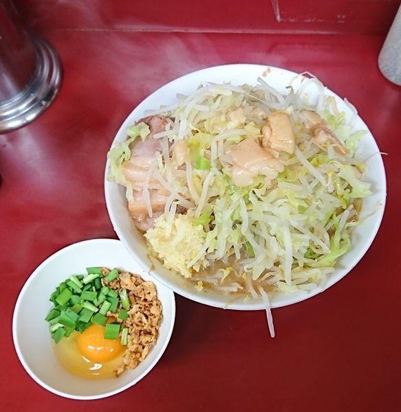 「豚入りラーメン」@ラーメン二郎 相模大野店の写真