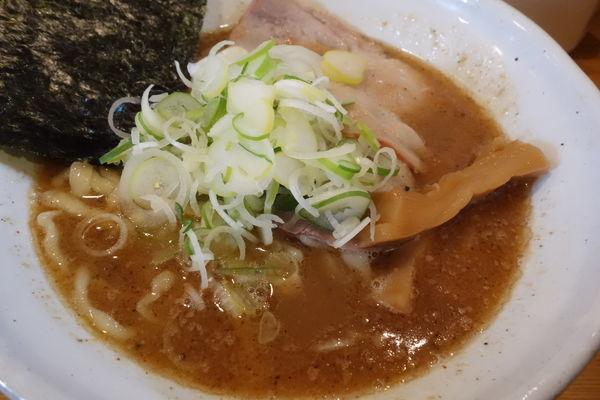 「らぁ麺750円」@麺道 GENTENの写真