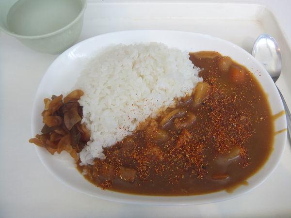 「カレーライス300円」@大浦食堂の写真