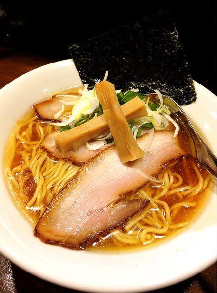 「鶏醤油らぁ麺」@Soupmenの写真