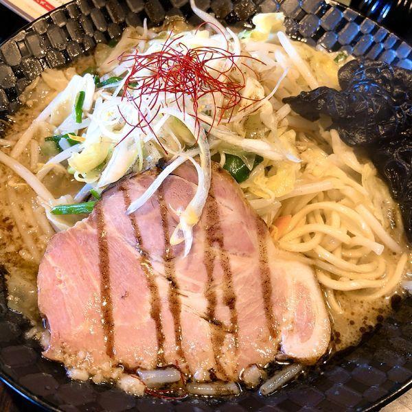 「前橋醤油タンメン(大盛)」@麺屋 燦鶴の写真