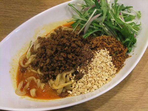 「汁なし担々麺(850円)」@手打中華そば 大賀110の写真