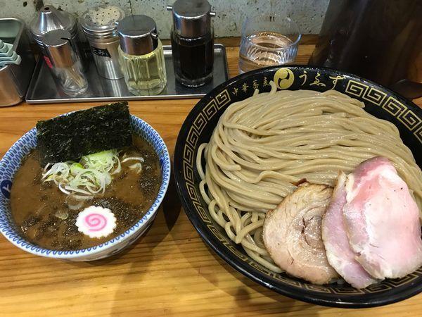 「つけ麺(特)+麺増量」@中華蕎麦うゑずの写真
