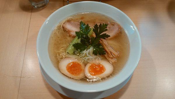 「鯛だし塩そば(味玉付)¥880-」@らーめんDINING れんげの写真