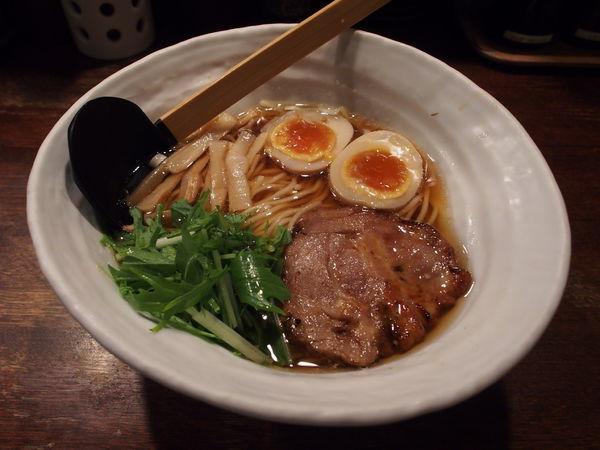 「味玉醤(ひしお)らぁめん」@神泉のらぁめん屋 うさぎの写真