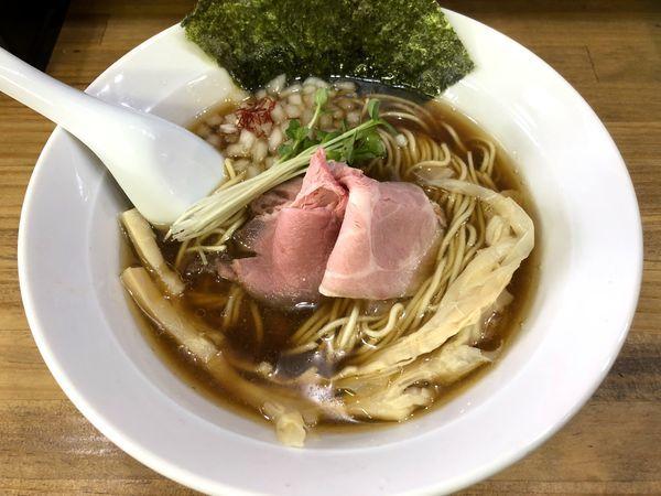 「醤油そば(750円)」@へべれ家の写真
