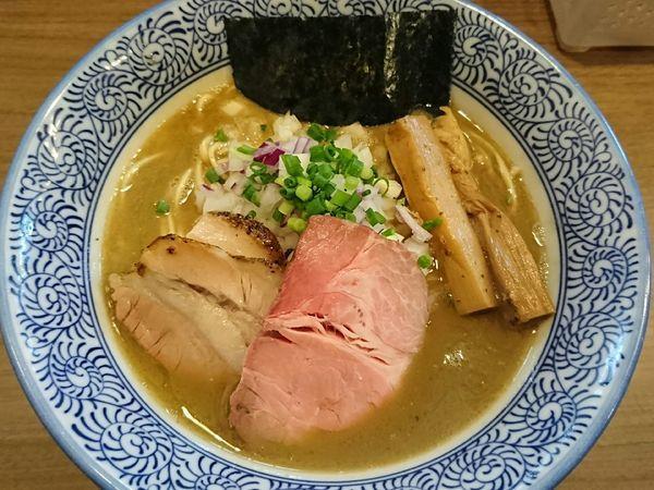 「濃厚煮干しそば」@煮干しつけ麺 宮元の写真
