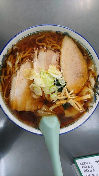 「チャーシューワンタン麺」@年貢町 茶釜食堂の写真