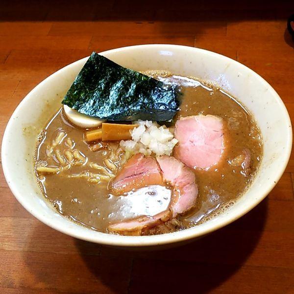 「特製魚介らーめん」@麺屋 清水の写真