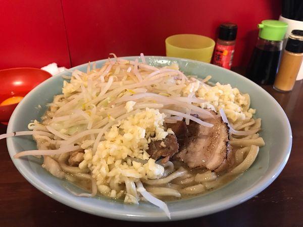 「ラーメン大400g+生卵」@龍麺 ふえ郎の写真