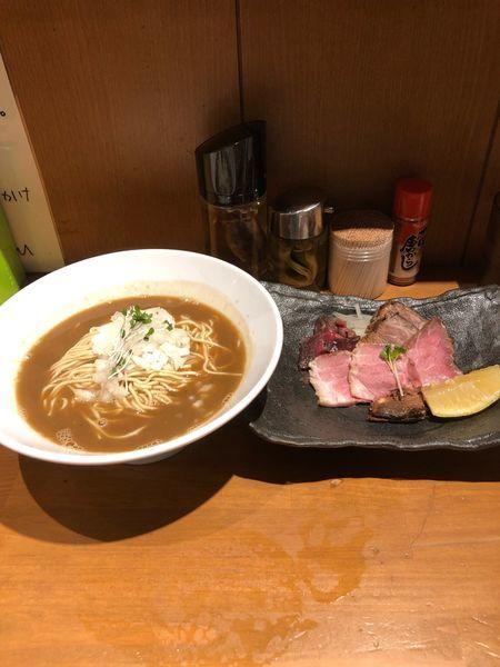 「1周年限定 つきひフェニックス」@亀戸煮干中華蕎麦 つきひの写真