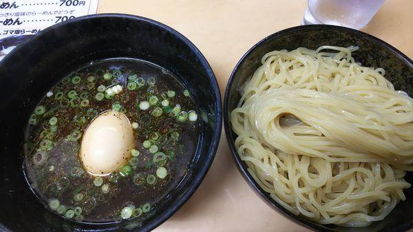 「つけめん 700円 大盛 100円増」@三谷製麺所の写真