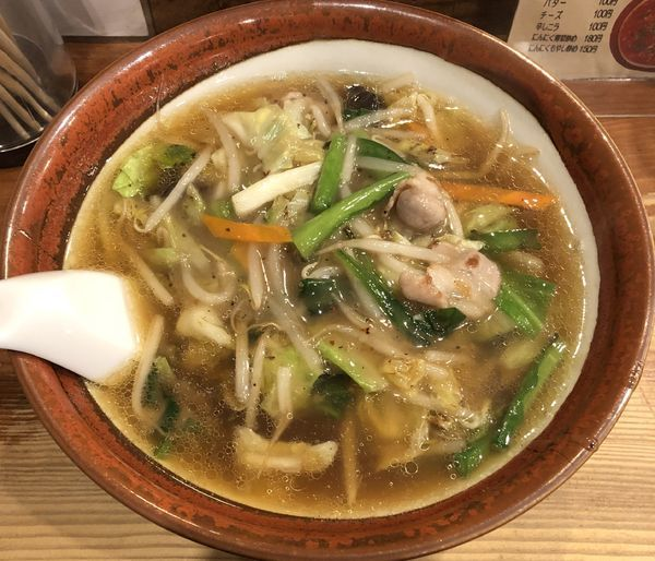 「餡かけ野菜らーめん(¥850)」@シバライズの写真