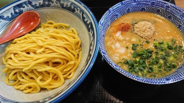 「濃厚味噌つけ麺(840円)」@本格拉麺酒房 もっけいの写真