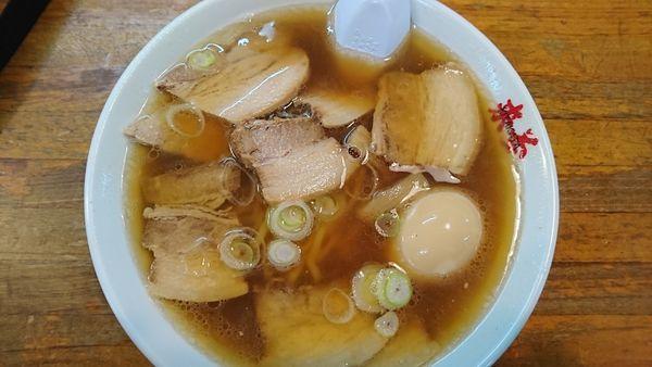 「喜多方チャーシュー麺」@喜多方ラーメン 来夢 会津若松門田店の写真