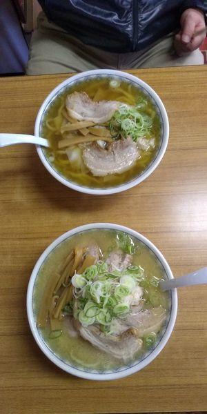 「味噌チャーシュー麺 ワンタン麺」@森田屋支店 太田店の写真
