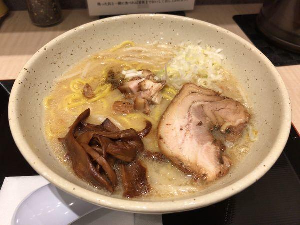 「味噌らーめん」@つじ田 味噌の章 東京駅店の写真