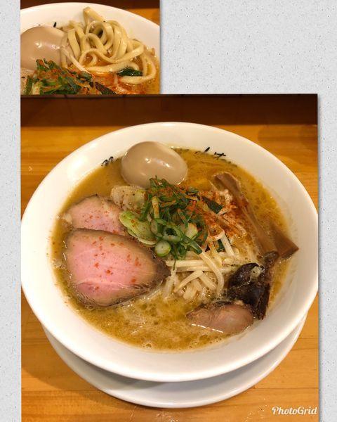 「辛味噌 ¥830」@麺や 花よの写真