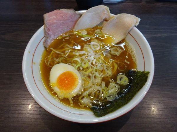 「鶏TON醤油ラーメン」@拉麺 水輝の写真